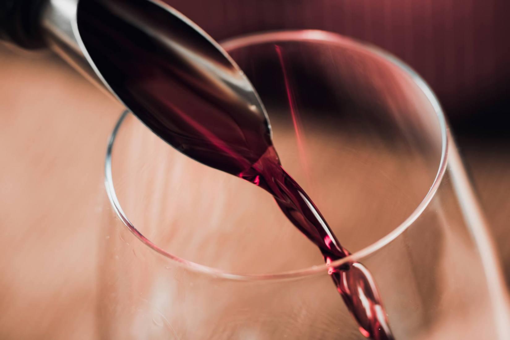 kolor domowego wina